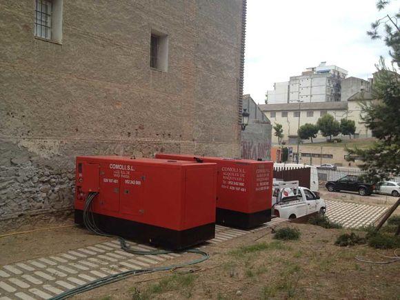 Alquiler de generadores de energía de calidad