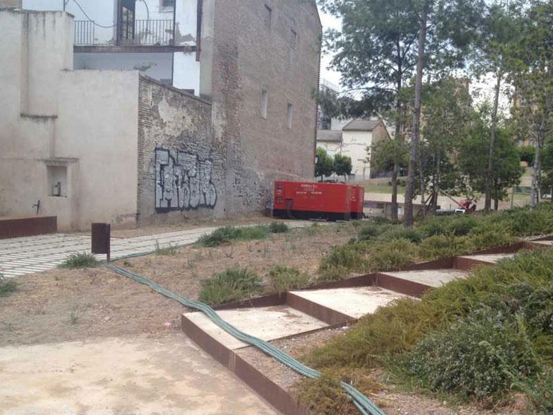 Alquiler de generadores de luz en Málaga