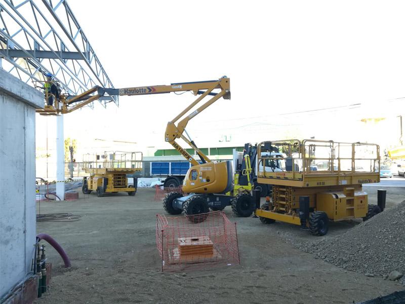 Alquiler de plataformas elevadoras en Torremolinos