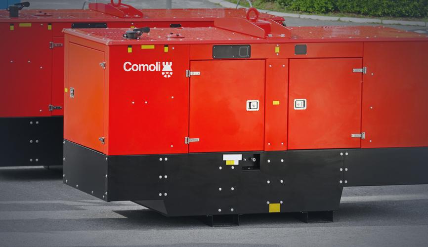 Alquilar un generador de emergencia en Málaga.